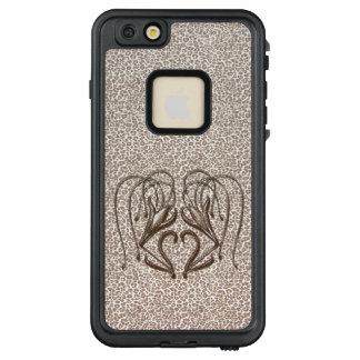 Snow Leopard Lily LifeProof FRĒ iPhone 6/6s Plus Case