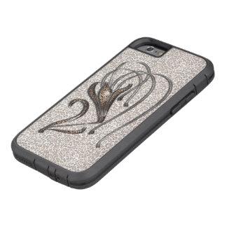 Snow Leopard Lily Tough Xtreme iPhone 6 Case