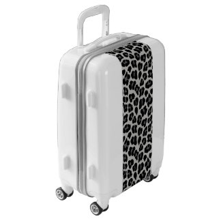 Snow leopard luggage