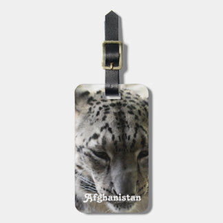 Snow Leopard Tags For Luggage
