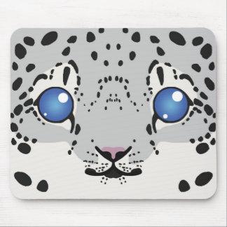 Snow Leopard Mouse Pad (Cub)