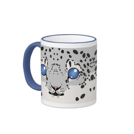 Snow Leopard Mug (Cub)