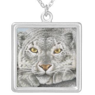 Snow Leopard Necklace