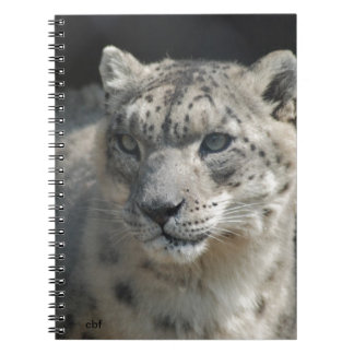 Snow Leopard Note Book