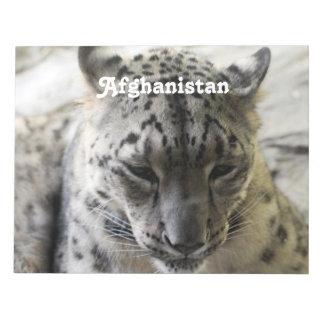 Snow Leopard Scratch Pads