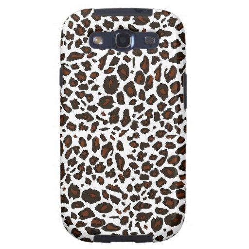 Snow Leopard Pattern Samsung Galaxy SIII Case