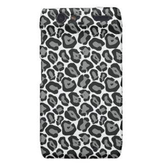 Snow Leopard Pattern Droid RAZR Cases