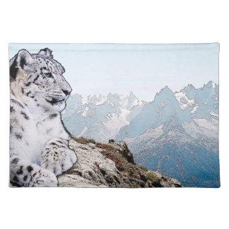 Snow Leopard Placemat