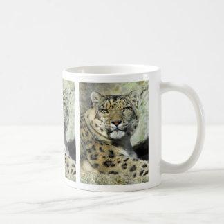 Snow Leopard Portrait Mug