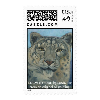Snow Leopard Stamps