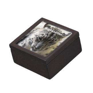Snow Leopard Premium Keepsake Box