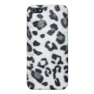 Snow Leopard Print Case For iPhone 5