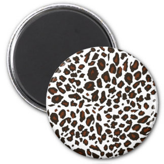 Snow Leopard Print Magnets