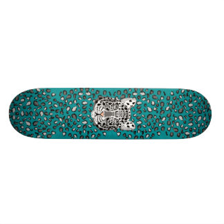 Snow Leopard Skate Board Decks