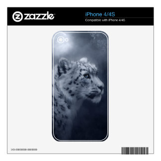 Snow Leopard Skins For iPhone 4S