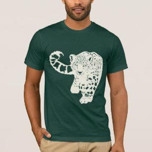 6f1e999af987 Snow Leopard T-Shirts - T-Shirt Design & Printing | Zazzle