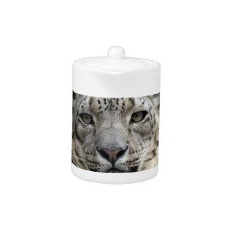 Snow Leopard  Teapot