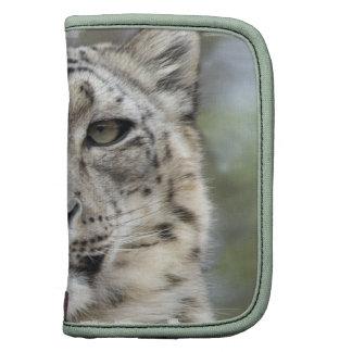Snow Leopard  Wallet Folio Planners