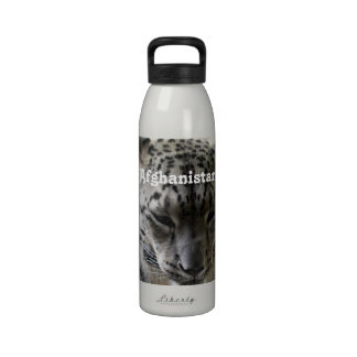 Snow Leopard Drinking Bottles
