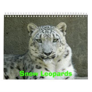 Snow Leopards Calendar, Snow Leopards Calendar