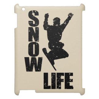 SNOW LIFE #3 (blk) iPad Cases