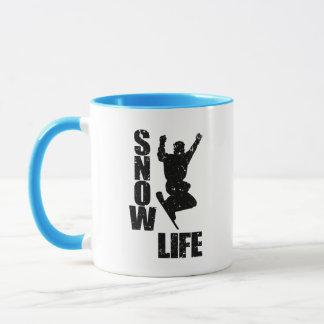 SNOW LIFE #3 (blk) Mug