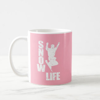 SNOW LIFE #3 (wht) Coffee Mug