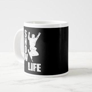 SNOW LIFE #3 (wht) Giant Coffee Mug