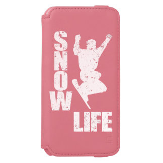 SNOW LIFE #3 (wht) iPhone 6/6s Wallet Case