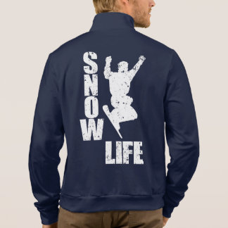 SNOW LIFE #3 (wht) Jacket