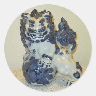 Snow Lion (Leopard) Stickers
