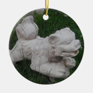 Snow Lion Ornament