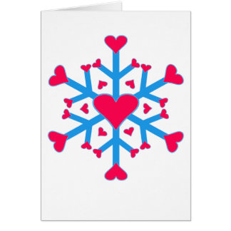 Snow Love - Card - Vertical