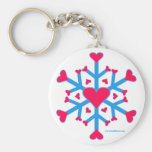 Snow Love Key Chain
