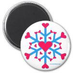 Snow Love Magnet