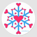 Snow Love Stickers