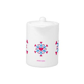 Snow Love Teapot