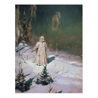 Snow Maiden, 1899 Post Card