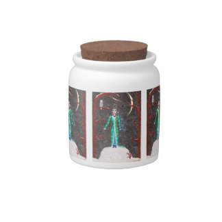 Snow Maiden Candy Jar