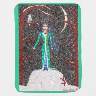 Snow Maiden Receiving Blanket