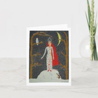 Snow Maiden (Red Version) Card card