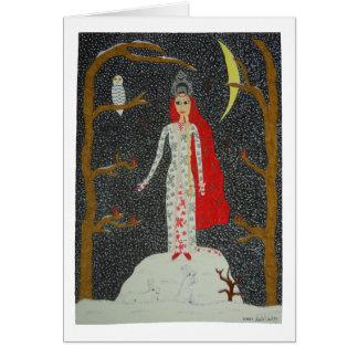 Snow Maiden (Red Version) Card