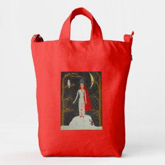 Snow Maiden (Red Version) Duck Bag