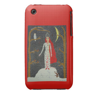 Snow Maiden Red Version iPhone 3G Case-Mate iPhone 3 Covers