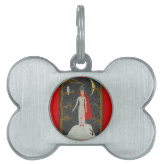 Snow Maiden (Red Version) Pet Name Tag