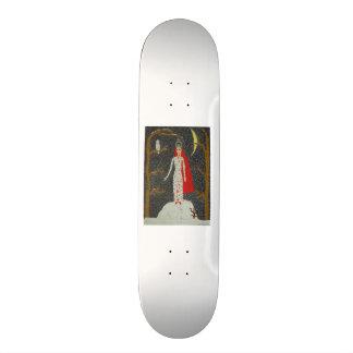 Snow Maiden (Red Version) Skateboard