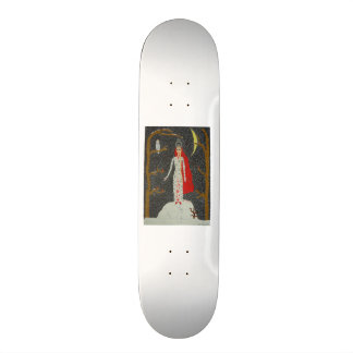 Snow Maiden Red Version Custom Skate Board