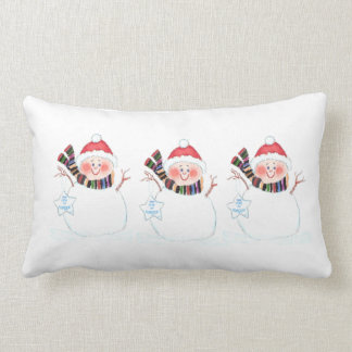 Snow Mama Pillow and Candy Canes