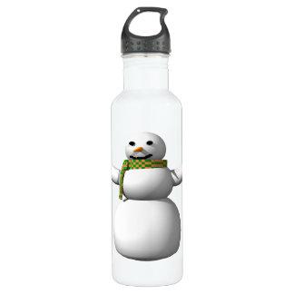 Snow Man 1 Stainless Steel Water Bottle