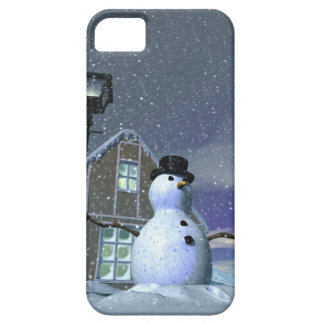 Snow Man 2 iPhone SE/5/5s Case